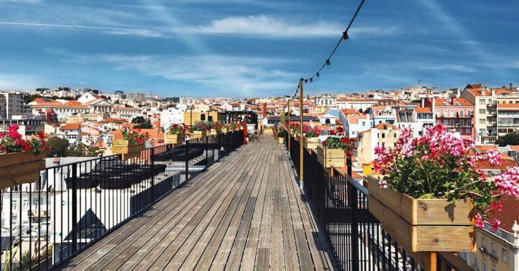 The Garden Rooftop: Todos Vão Querer Subir Ao Novo Terraço De Lisboa