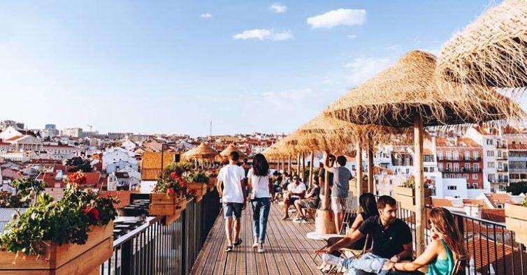 The Garden Rooftop: O Terraço Com Vista 360º Para Lisboa Vai Fechar Este Fim De Semana