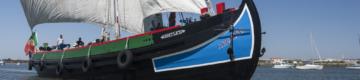 Vai poder navegar até novembro numa embarcação tradicional na Moita