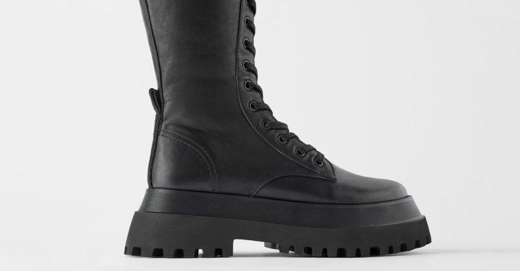 Botas da Zara (99,95€)