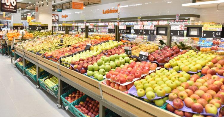 Continente Está A Vender Caixas Com Frutas E Legumes Que Sobram