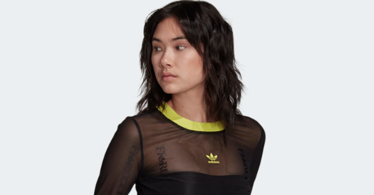 Camisola transparente, Adidas (44,95€)