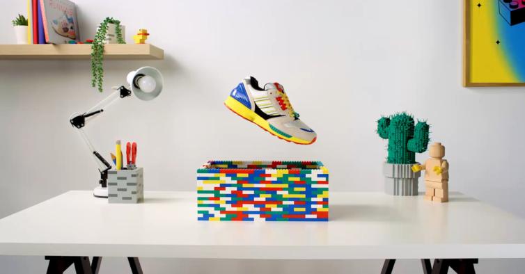Adidas e LEGO lançam edição especial de sapatilhas que já são um sucesso