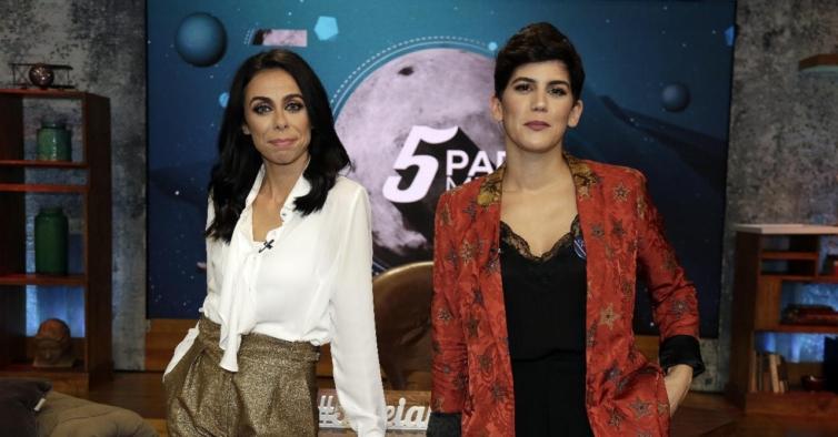 Agora E Oficial Ines Lopes Goncalves E A Nova Apresentadora De 5 Para A Meia Noite