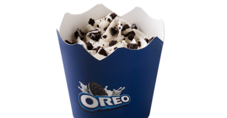 13. Mini McFlurry Oreo
