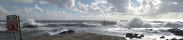 Até sexta-feira, a agitação marítima será elevada em algumas zonas do País