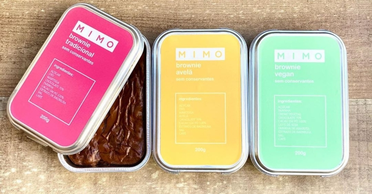 Os novos (e deliciosos) brownies em caixas que são um Mimo
