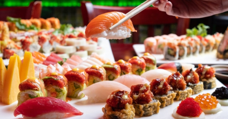 No novo all you can eat de sushi em Lisboa paga 11,90€ e come as peças que quiser