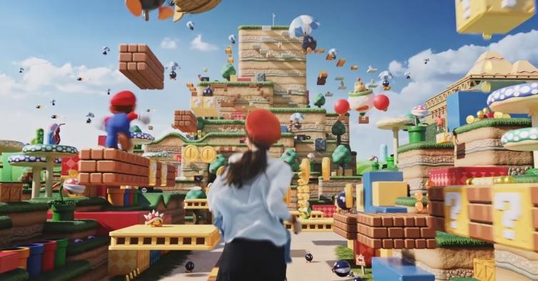 Parque de diversões da Nintendo (com o Super Mario) vai finalmente abrir no Japão
