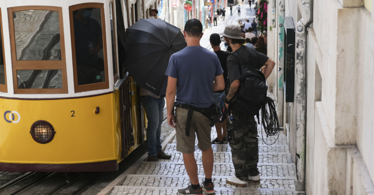 """""""La Casa de Papel"""" está a ser gravada em Lisboa"""