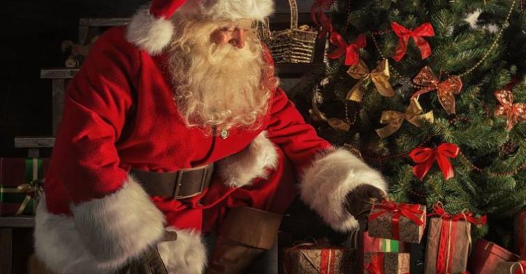 Este ano, o Pai Natal vai entrar em sua casa através do Zoom