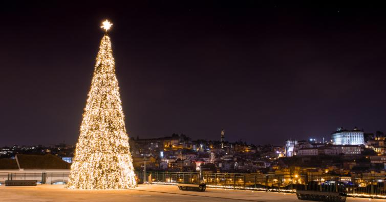 Gaia vai ter um Natal mágico com festa no quarteirão do World of Wine