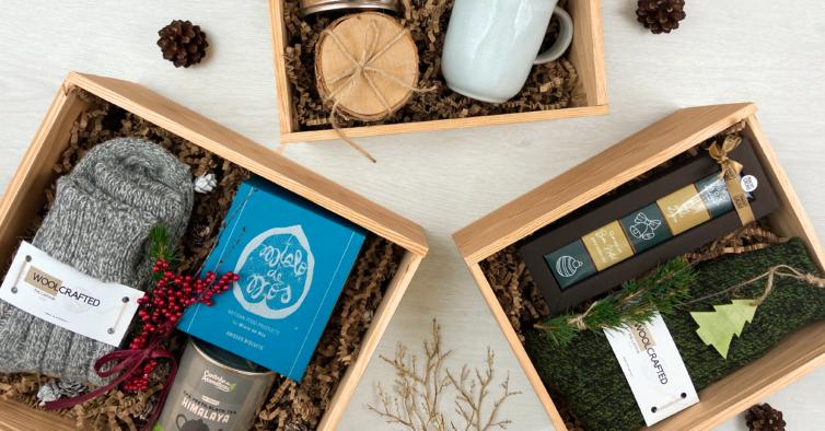 Estas caixas de presentes super giras vão facilitar-lhe a vida no Natal