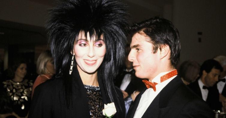 Lembra-se daquele período bizarro em que Tom Cruise namorou com Cher?