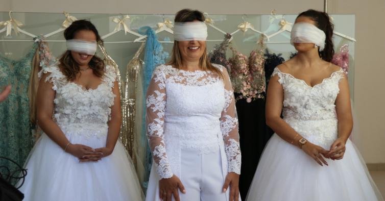 """""""O Noivo é que Sabe"""": um casamento digno de uma aposta tripla no Totobola"""