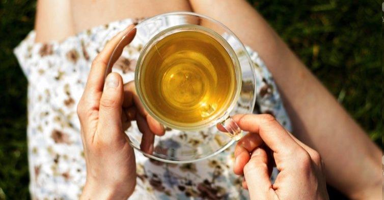 Chá com pimenta caiena