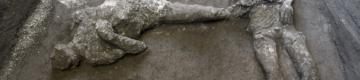 É um achado histórico: foram encontrados dois corpos quase intactos em Pompeia