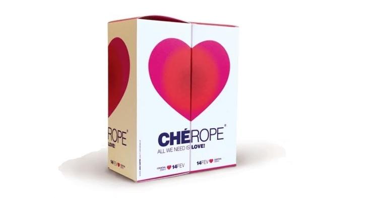 O novo cocktail da Chérope é um remédio romântico para o confinamento