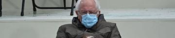 As redes sociais estão loucas com as luvas de Bernie Sanders — e já há memes