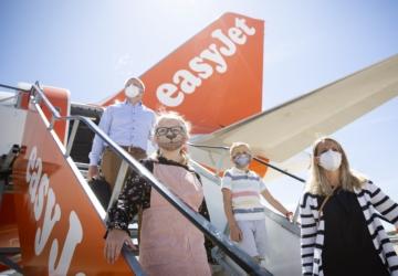 Proposta da easyJet para desbloquear as viagens: testes gratuitos aos passageiros