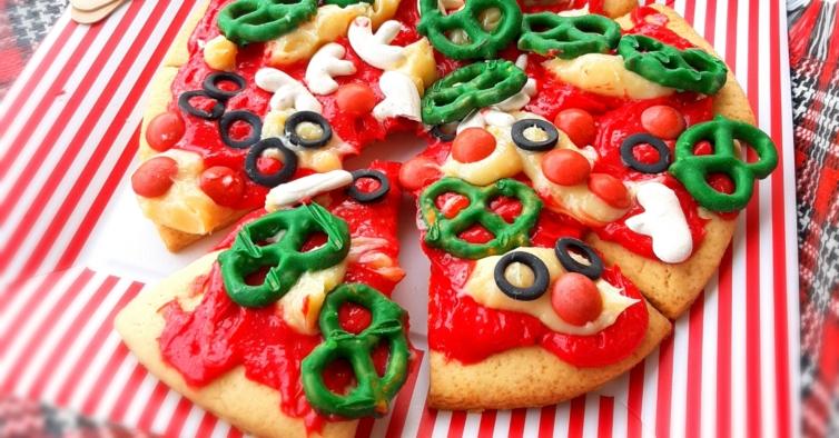 A pizza de bolachas e brigadeiros que pode fazer em casa