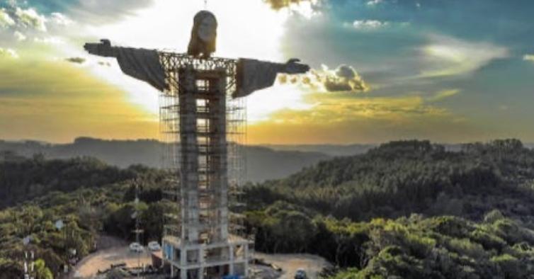 Brasil vai ter uma nova estátua de Cristo, ainda maior do que a do Rio