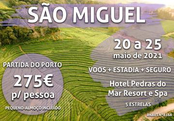 Reserve já: 5 noites em São Miguel por apenas 275€ (com voo e hotel)