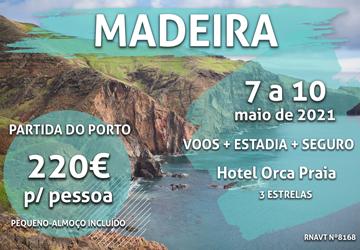 Prepare-se para um fim de semana na Madeira por 220€ num hotel com vista para o mar