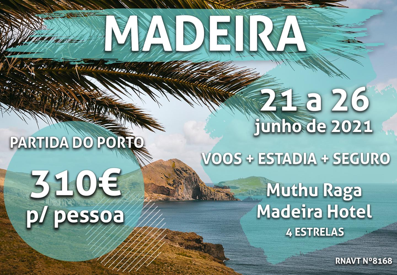 Este pacote de sonho para a Madeira custa 310€ por pessoa num hotel de quatro estrelas
