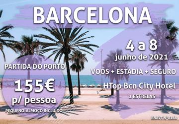 É mesmo verdade: esta viagem para Barcelona custa 155€ por pessoa com voo e hotel