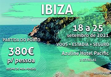Esta viagem para Ibiza só custa 380€ com voo e estadia na baía de San Antonio