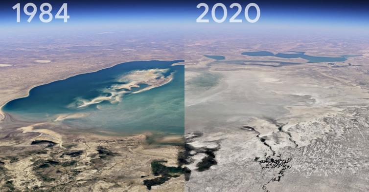 Com o novo timelapse do Google Earth pode ver como o mundo mudou em 37 anos