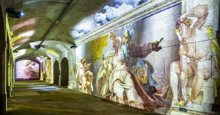 Porto recebe exposição imersiva sobre Leonardo Da Vinci e Miguel Ângelo