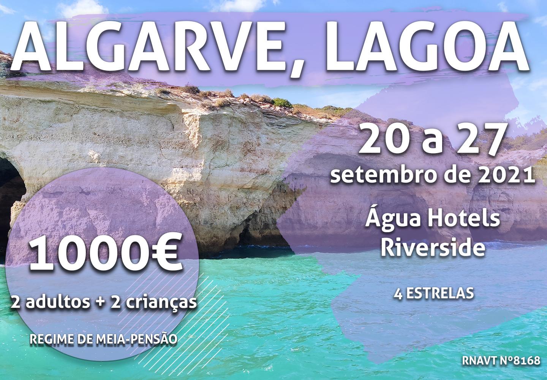 Não perca: 7 dias em Lagoa para quatro pessoas só por 1000€