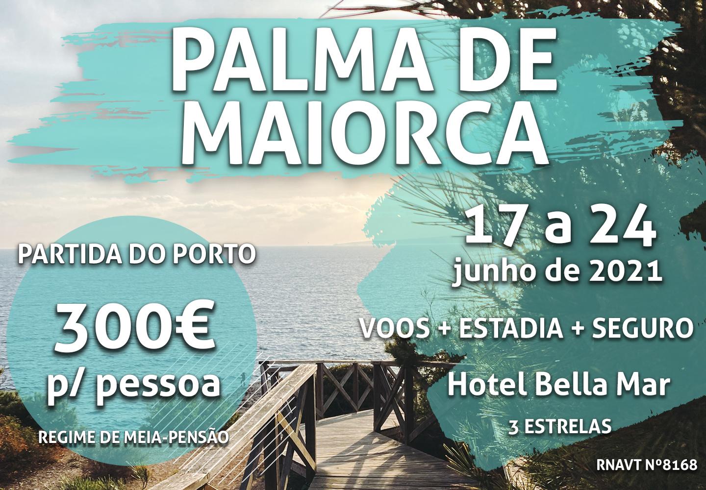 É a loucura: 7 noites em Palma de Maiorca por apenas 300€ (hotel incluído)