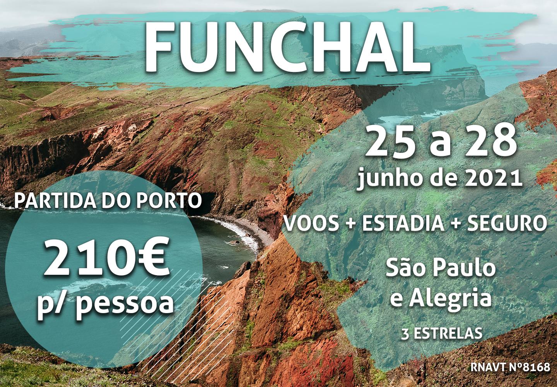 Alerta, férias: Porto-Funchal custa apenas 210€ em junho