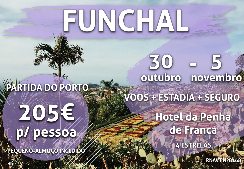 Aproveite: 7 noites na Madeira por apenas 205€ com hotel e pequeno-almoço incluído