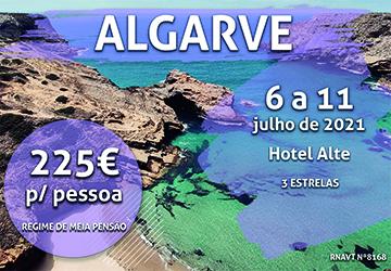 Imperdível: uma semana no Algarve só custa 225€ por pessoa com meia-pensão