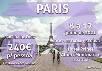 Atenção: esta escapadinha para Paris só custa 240€ (com voo, hotel e seguro)