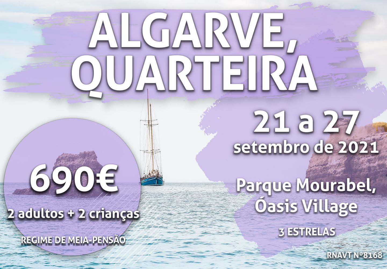 Alerta, Algarve: esta escapadinha para Quarteira custa 690€ para quatro pessoas