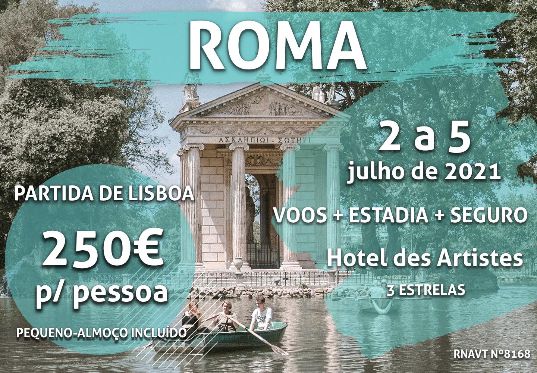 Imperdível: 4 dias em Roma só por 250€ (com hotel no centro da cidade)