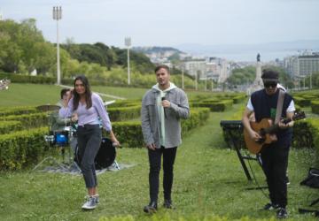 """David Carreira prepara live especial no 25 de abril (que vai ser """"quase um programa"""")"""