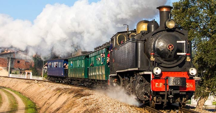 O histórico comboio a vapor do Vouga vai voltar a circular este fim de semana