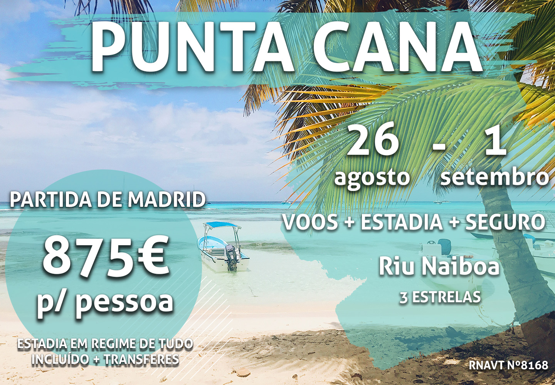 Oportunidade: uma semana em Punta Cana por 875€ por pessoa com tudo incluído