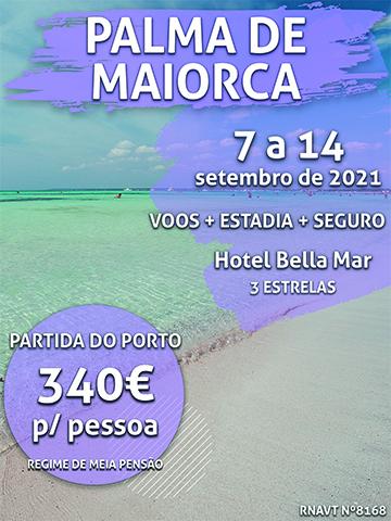 Escapadinha flash: Porto-Palma de Maiorca por 340€ com meia-pensão