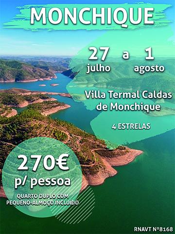 Esta semana inteira num hotel em Monchique só custa 270€ por pessoa