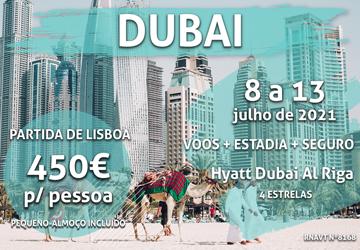 Esta viagem incrível para o Dubai custa 450€ com hotel e pequeno-almoço