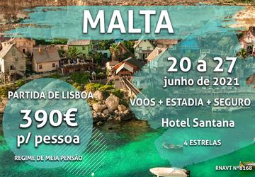 Prepare-se para uma semana incrível em Malta por 390€ num hotel de 4 estrelas