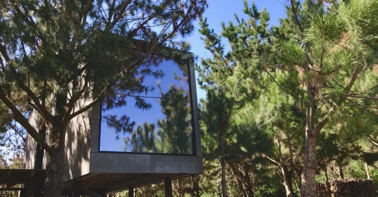 Esqueça o Algarve: estas casas na árvore dão acesso a uma praia (quase) privada