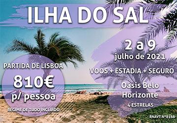 Alerta, férias: 7 noites na Ilha do Sal por apenas 810€ num hotel tudo incluído